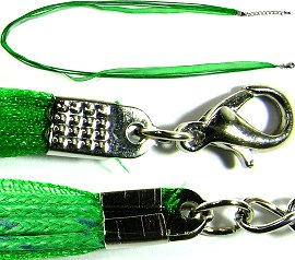 "Green 4 Rope, 1 Ribbon 23"" Cord Ns246"
