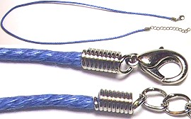 "18"" Twisted Rope Cord Blue Ns39"