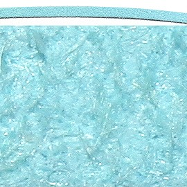 "36"" Inches Long Soft Leather Cord Sky Blue Ns415"