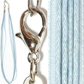 "18"" Baby Blue 4 Rope 1 Ribbon Ns482"