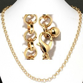 "1 pc Gold 20""Chain Ns548"