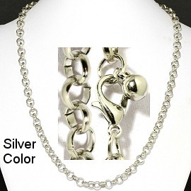 "1 pc Silver 20"" Chain Ns550"